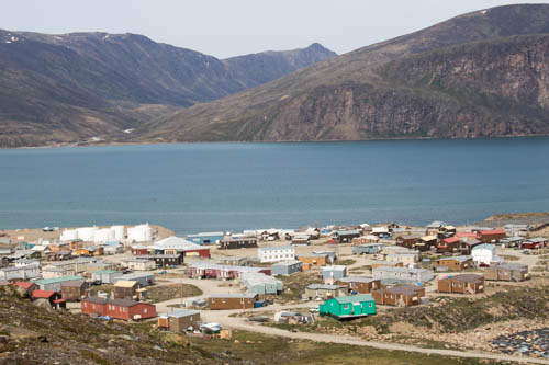 The hamlet of Pangnirtung
